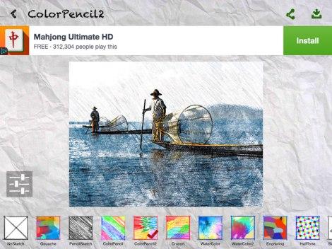 Fishermen in Sketch Guru Screen Shot