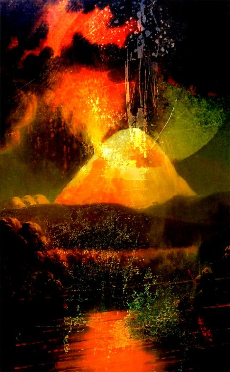 2nd Volcano abstract