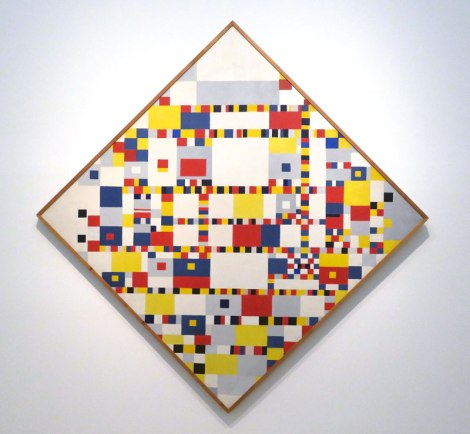 Modern Art Museum: a Mondrian by Kocj in 1944