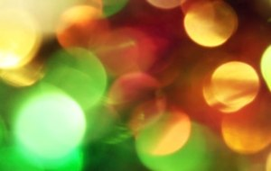 Foggy-colored bokeh from Pixlromatic, by overlaying the overlay layer onto a black background