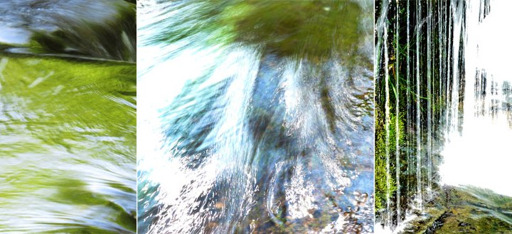 Swallow Falls in Wales: Explorations of Moving Water