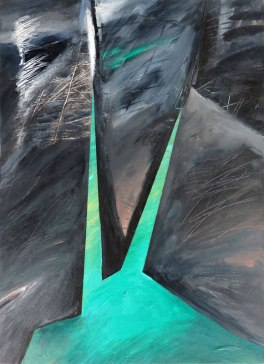 Englishman River Falls Painting